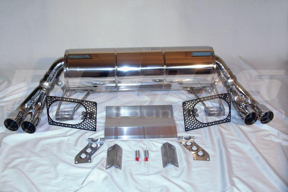 Lamborghini Gallardo Rudolf Fuchs Gmbh Exhaust Systems Exhaust
